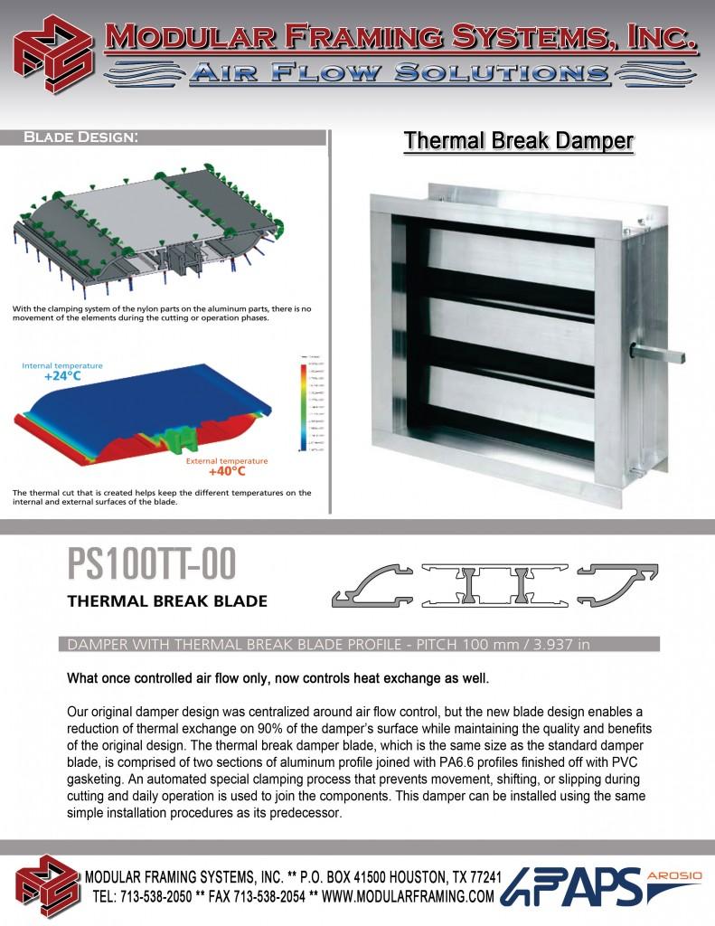 Thermal Break Damper